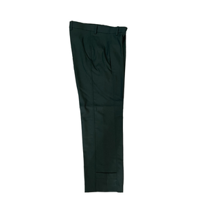 WOOL SERGE WORKER TROUSERS