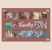 Load image into Gallery viewer, Digital Family Photo Collage (Print Ready)