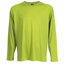 Load image into Gallery viewer, 135g Long Sleeve Polyester T-Shirt