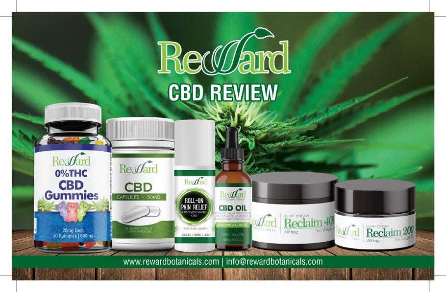 New Year's Resolution to Be Healthier and Feel Better? Reward CBD is Here for YOU