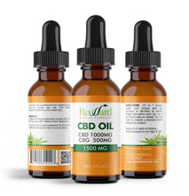Load image into Gallery viewer, 1500mg CBD/CBG Full Spectrum (CBD 1000mg, CBG 500mg)