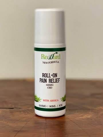 Roller-Gel 500mg CBD (NEW Formula!)
