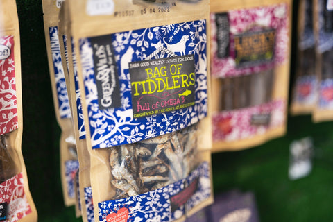 tiddlers dog treats