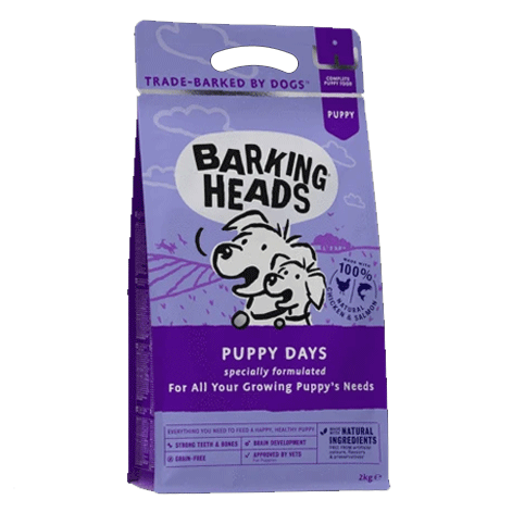 Barking Heads Puppy Days Dry Dog Food 2kg