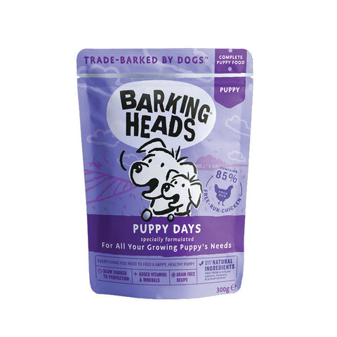 Barking Heads Wet Food Pouch Puppy