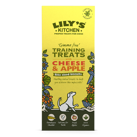 Lily's Kitchen Cheese & Apple Treats