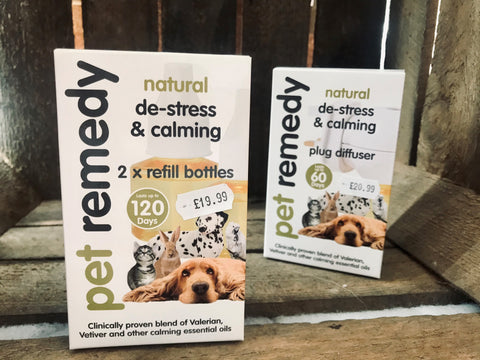 Pet Remedy Refill Pack x2 40ml bottles for Plug In Diffuser