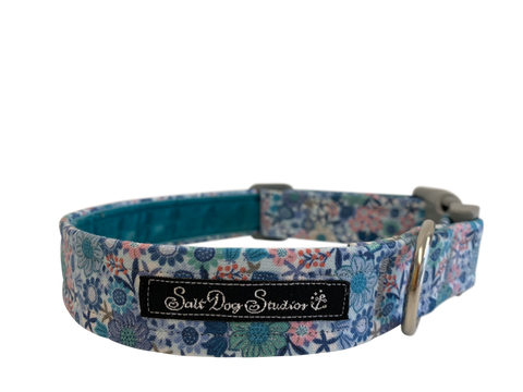 Salt Dog Studios - Vintage Posy Dog Collar