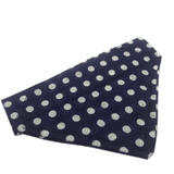 Blue & White Polka Dot Bandana by Ally Crosbie-Cowley
