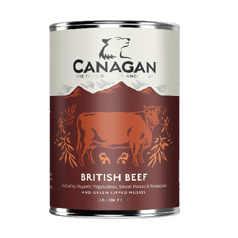 Canagan British Beef Tin 400g