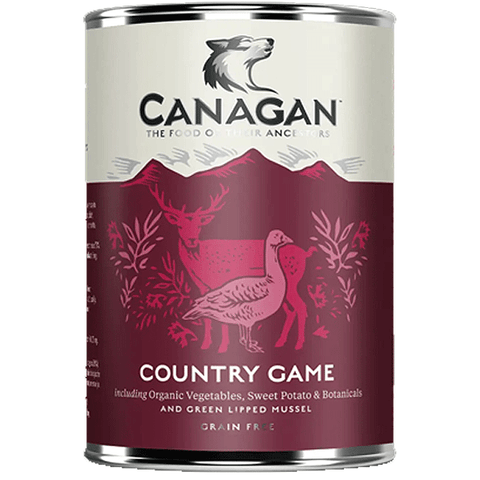 Canagan Country Game Tin 400g