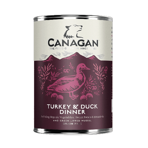 Canagan Turkey & Duck Dinner Tin 400g
