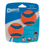 Chuckit Ultra Ball Medium x2 Pack