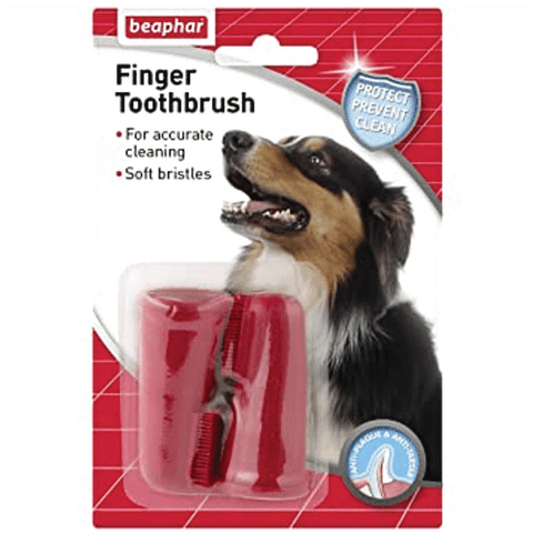 Beaphar Finger Toothbrush 2 pack