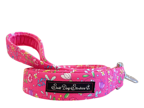 Salt Dog Studios - Pretty in Pink Dog Lead