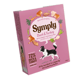 Symply Wet Food Tray Turkey & Duck 395g