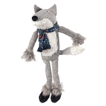 House of Paws Winter Woodland Fox Dog Toy
