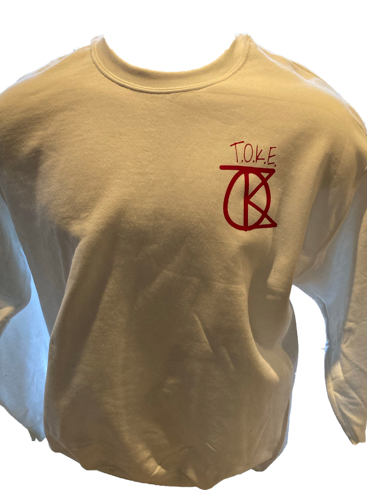 Red TOKE Sweater
