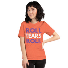 Load image into Gallery viewer, Roll Tears Roll - Orange + Purple + White