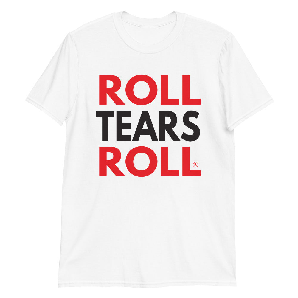 Roll Tears Roll - Red + Black