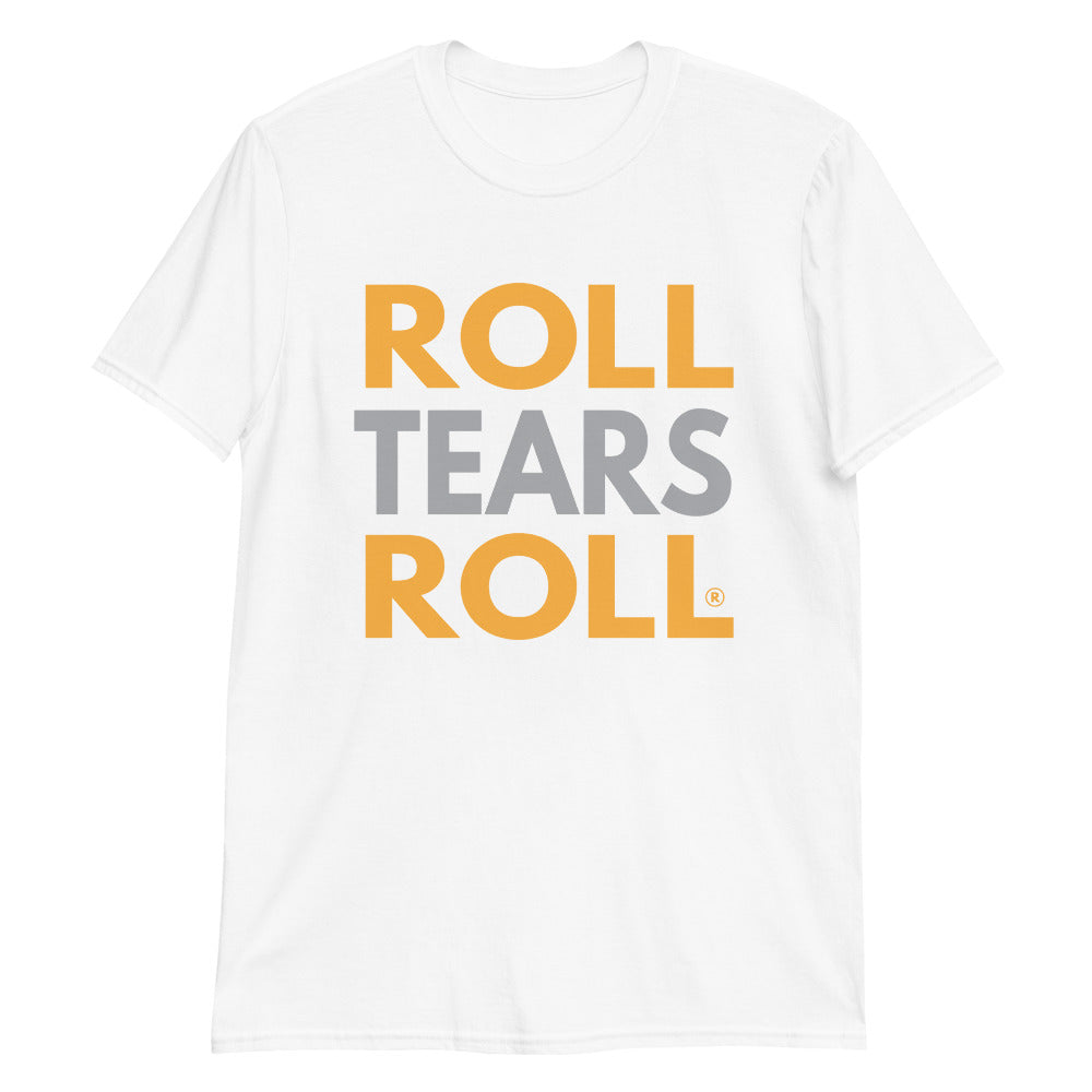 Roll Tears Roll - Orange + Grey