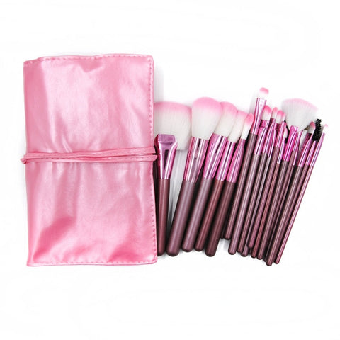 22pcs Golden Makeup Brushes Kit