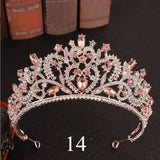 Crystal Tiara For Brides