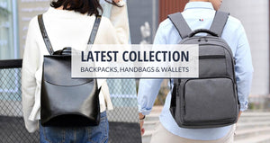 Latest collection of bags, handbags, wallets for men and women