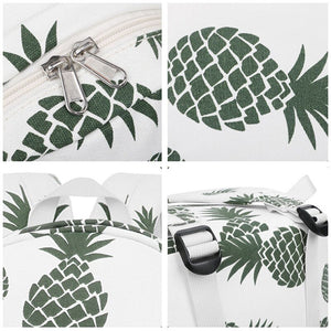Pineapple Canvas Backpack - Slick Neat