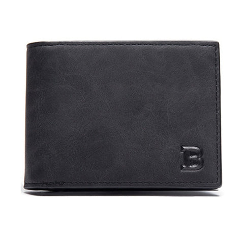 Thin Leather Wallet - Slick Neat