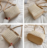 Load image into Gallery viewer, Vento Marea Straw Crossbody - Slick Neat