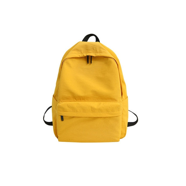 Solid Canvas Backpack - Slick Neat