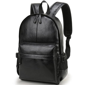 Leather School Backpack - Slick Neat