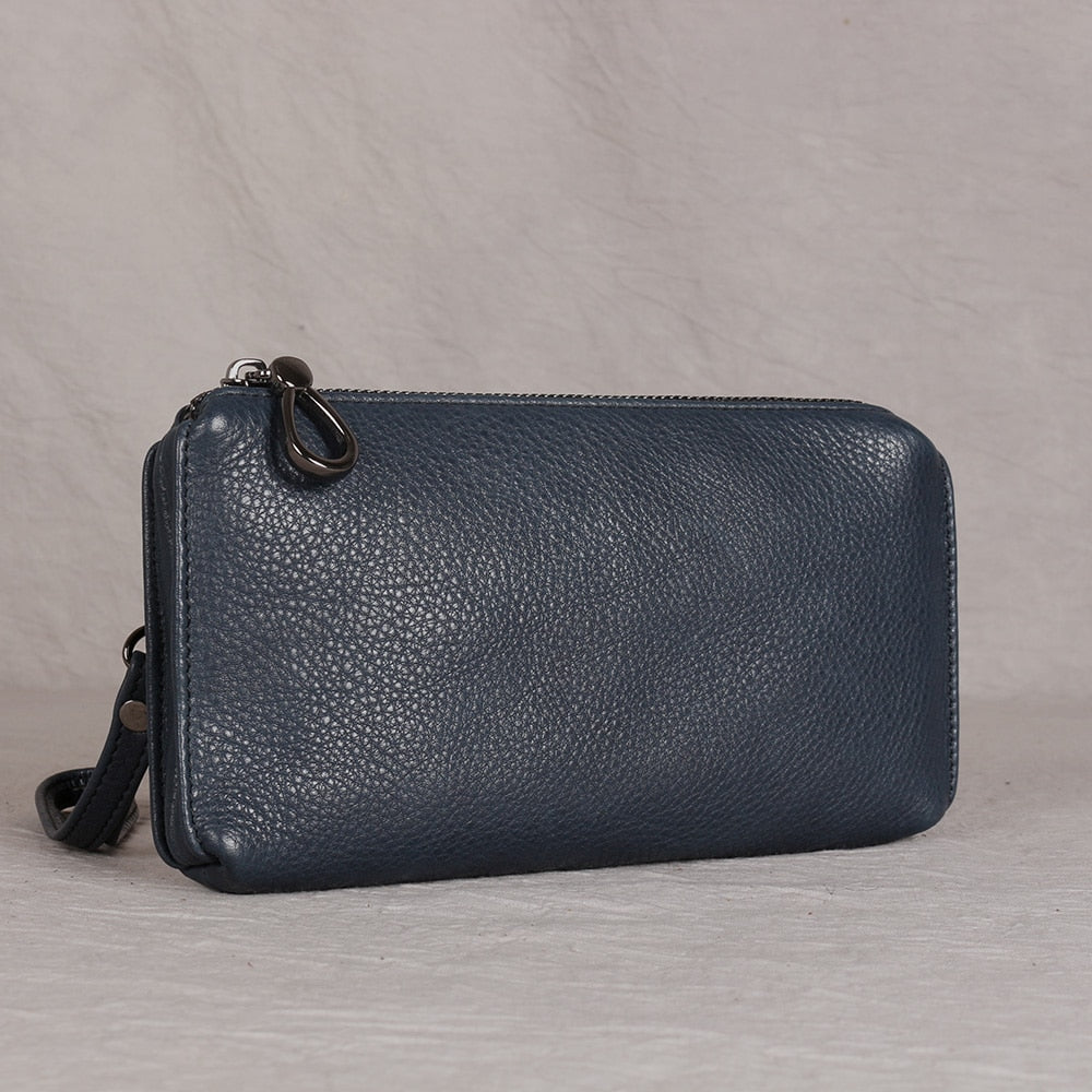 Men's Leather Clutch - Slick Neat