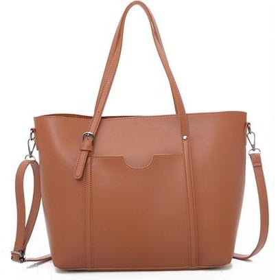 Casual Solid Tote - Slick Neat