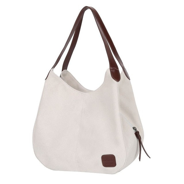 Canvas Wild Art Tote - Slick Neat