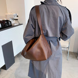 Soft Leather Shoulder Bag - Slick Neat