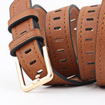 Load image into Gallery viewer, Vegan Leather Belt - Slick Neat