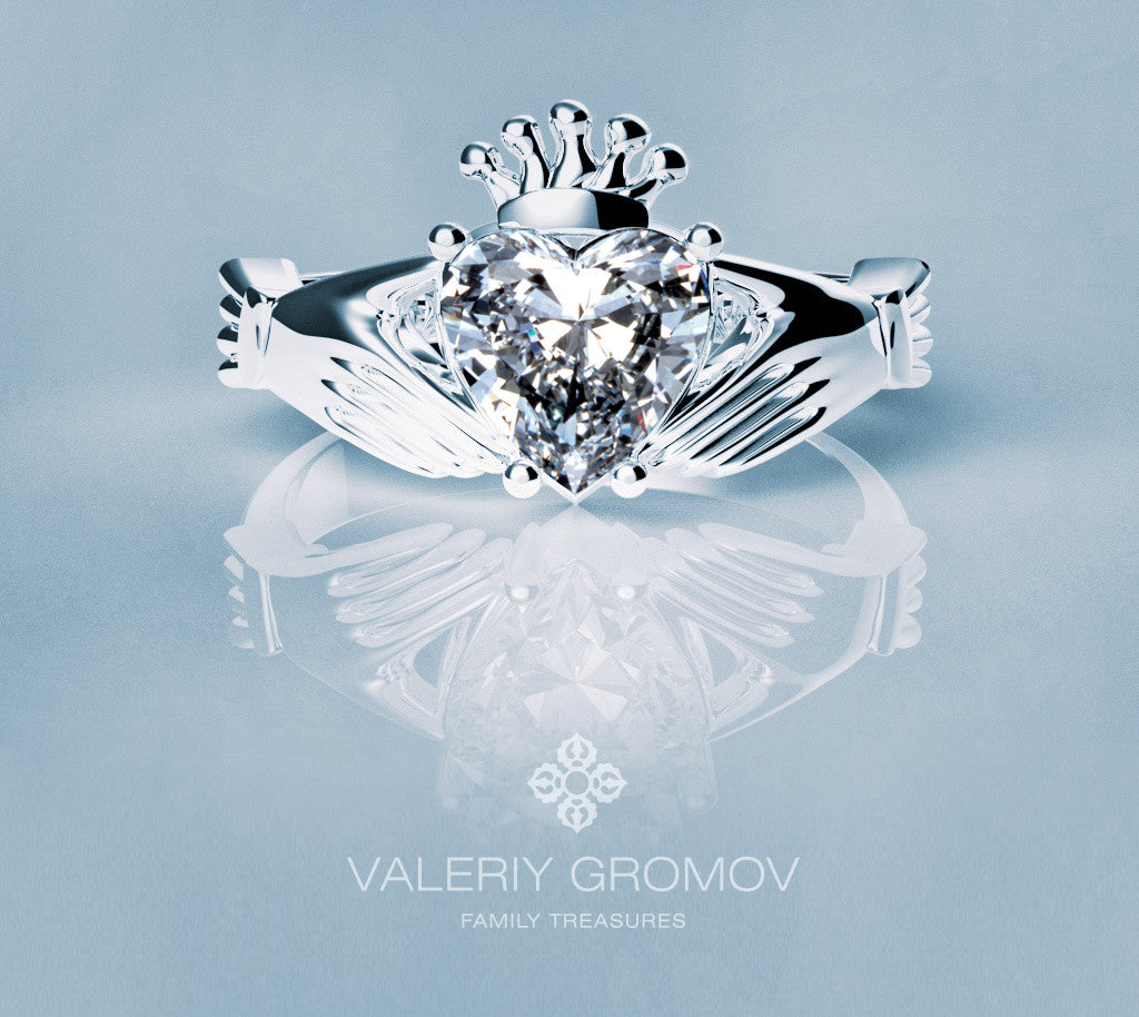Claddagh ring & Diamond