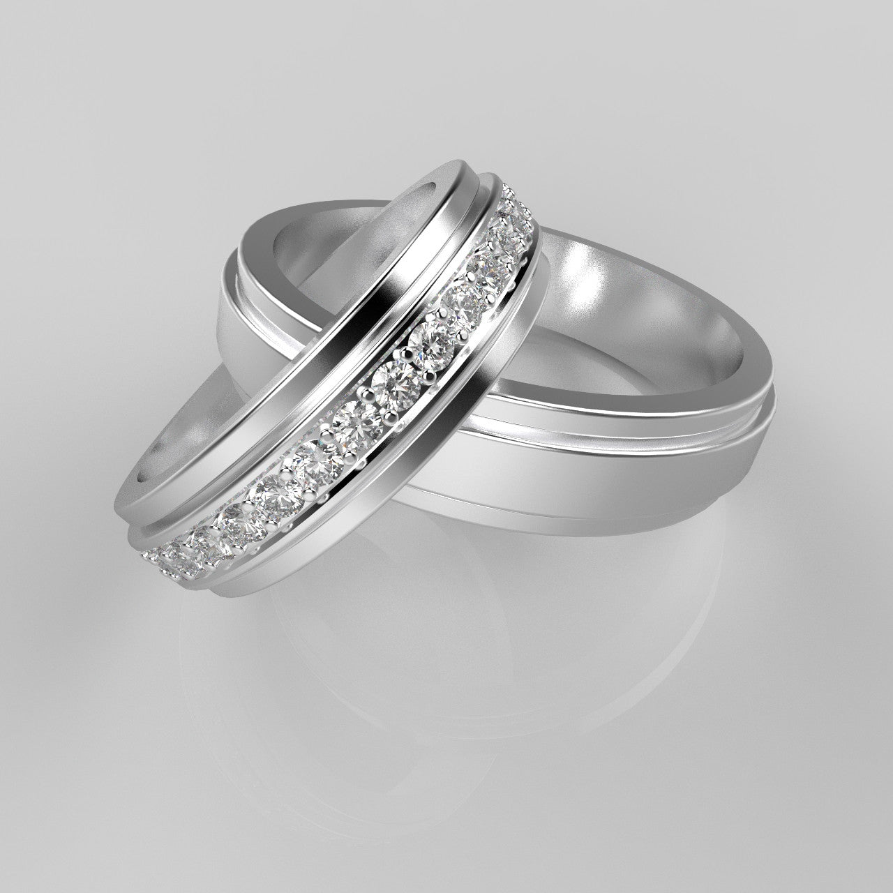 Trail Wedding Rings