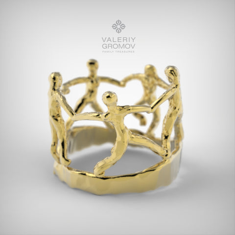 "Matisse ""Dance"" Ring"