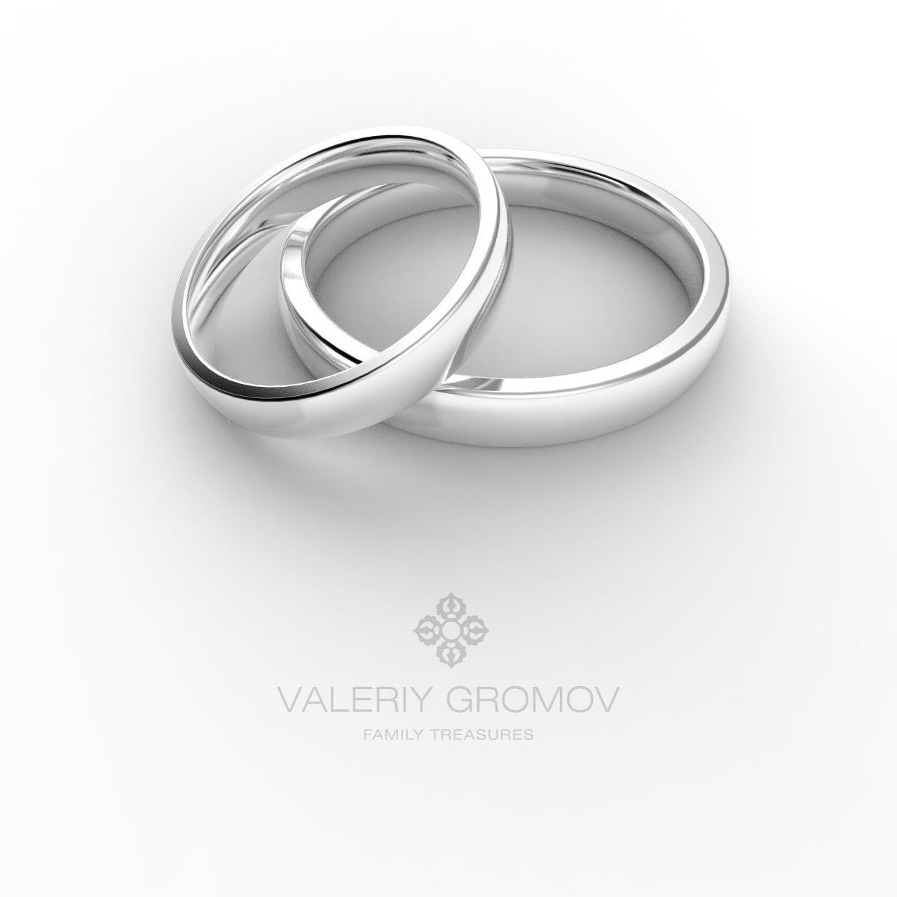 Simple Classic Wedding Rings