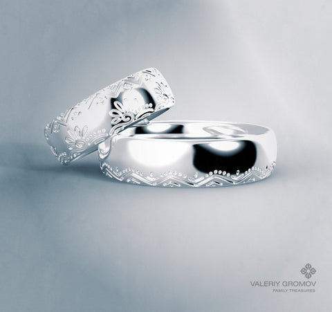 """Славяне"" Wedding Rings"