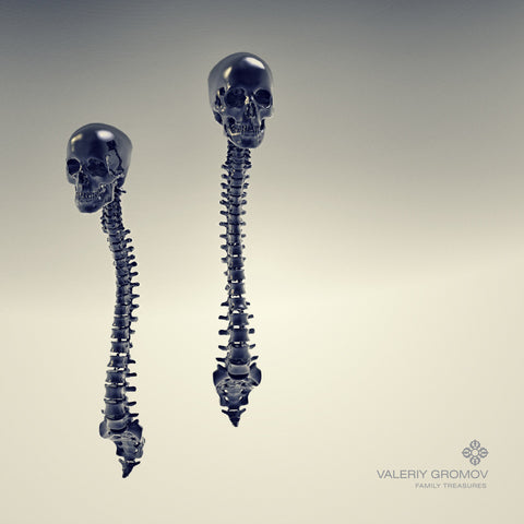 Spinal Earrings