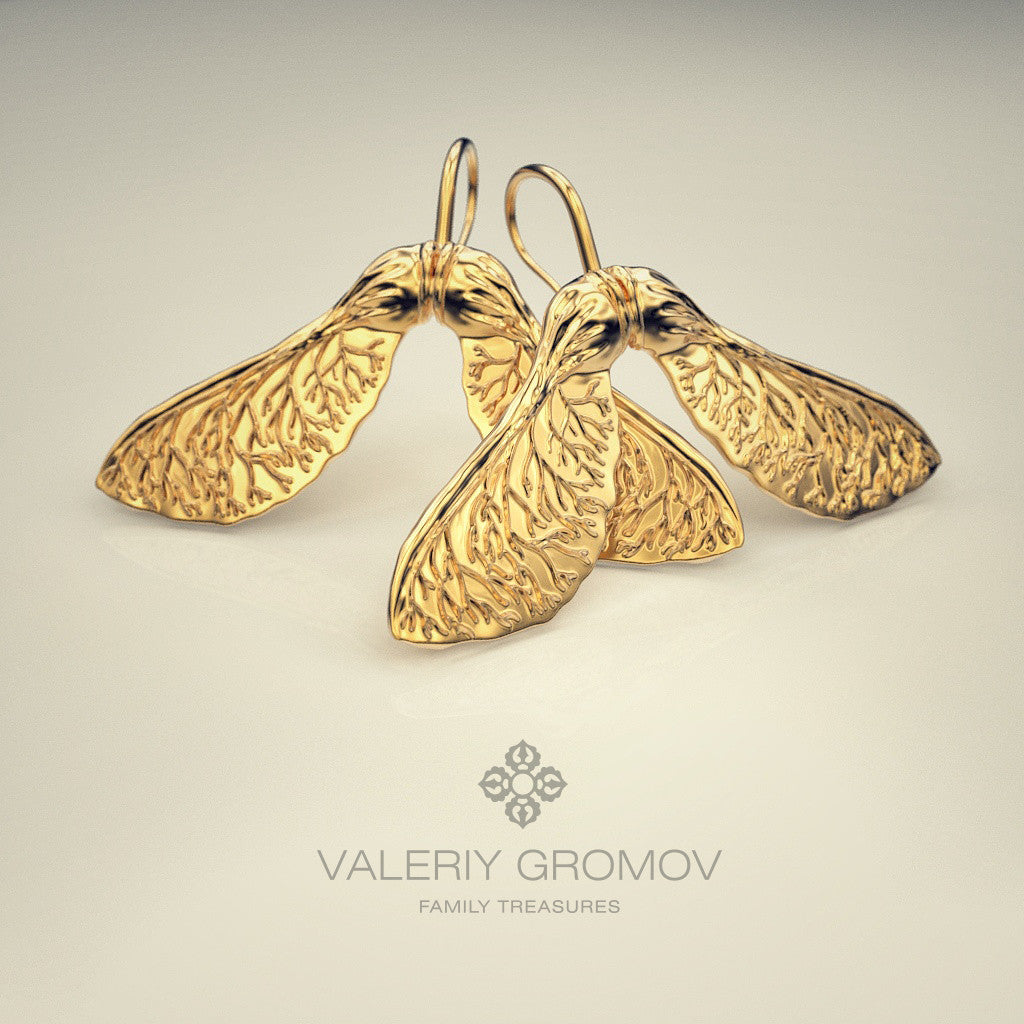 """Vertolёtiki"" Earrings"
