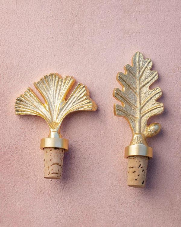 Coral Bottle Stopper (Set of 2)