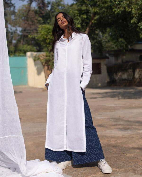 Many Moons Kurta - White