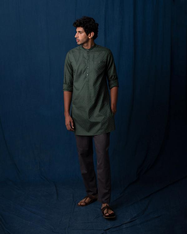 Pondicherry Kurta - Green