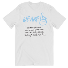 Load image into Gallery viewer, We Are One Dear Christians White Tee