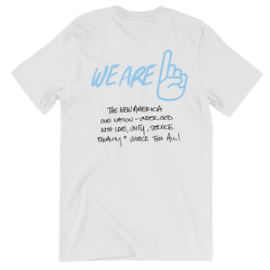 We Are One All Lives White Tee